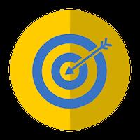 Icons - bullseye target