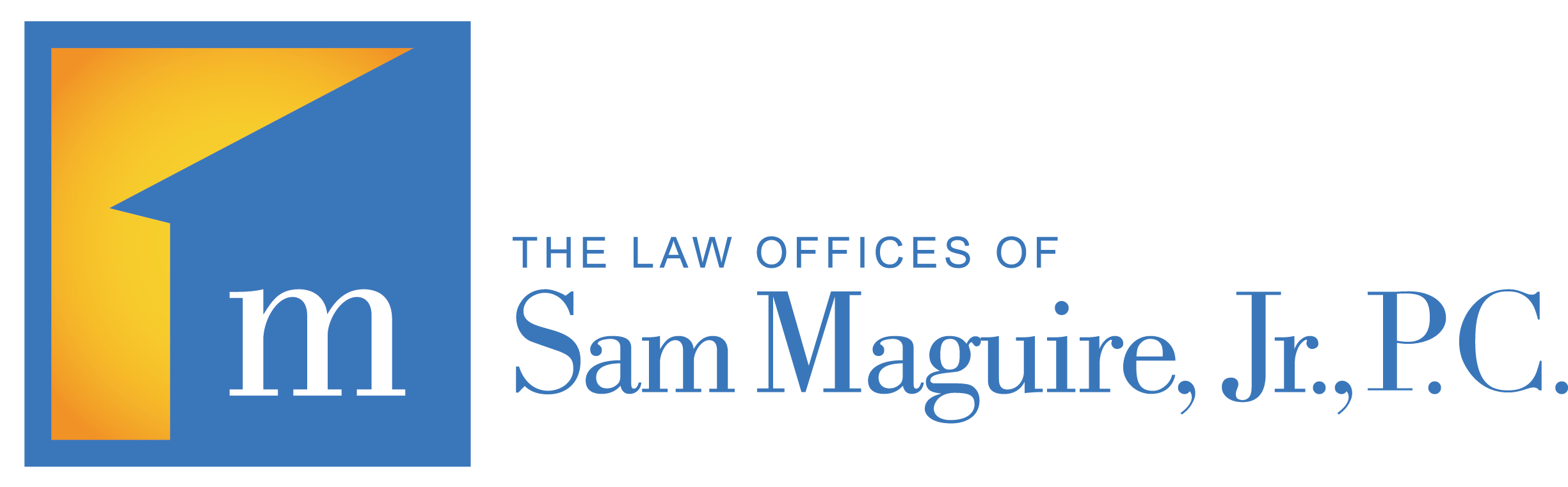 The Law Offices of Sam Maguire Logo